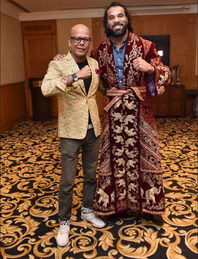 Jinder Mahal new attire make him like the real 'Maharaj'.