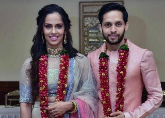 Ace Shuttler Saina Nehwal ties the knot with Parupalli Kashyap, read post
