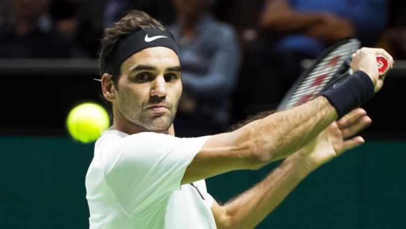 Roger Federer beats Andreas Seppi in the final of Rotterdam open