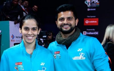 Suresh Raina was cheering for Sania Nehwal during PBL, Sania lost to Tai Tzu Ying