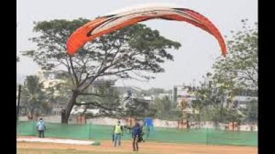 Five days national aero games and para motor adventure championship program began in Mahabubnagar