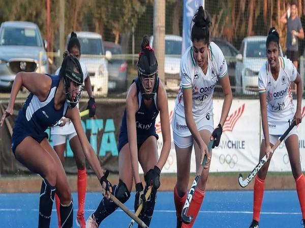 चिली सीनियर महिला टीम के खिलाफ खेलने वाली है भारतीय जूनियर महिला हॉकी टीम