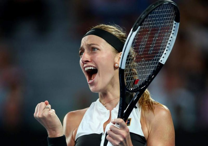 Australian Open 2019: Petra Kvitova enters final