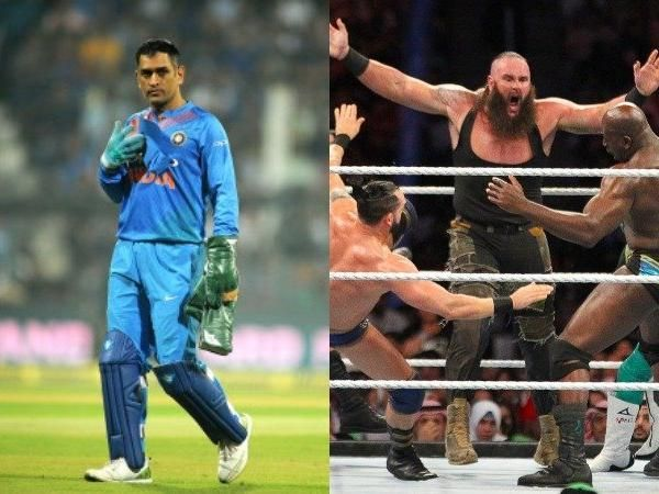 MS Dhoni will enter the Royal Rumble match 2019 this Monday?