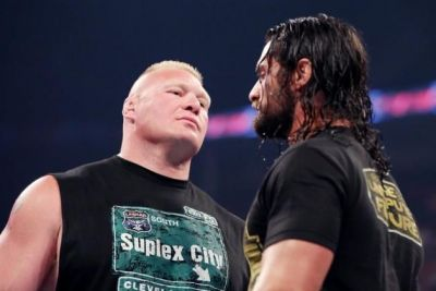 Seth Rollins choose Brock Lesnar as his opponent for Wrestlemania 35