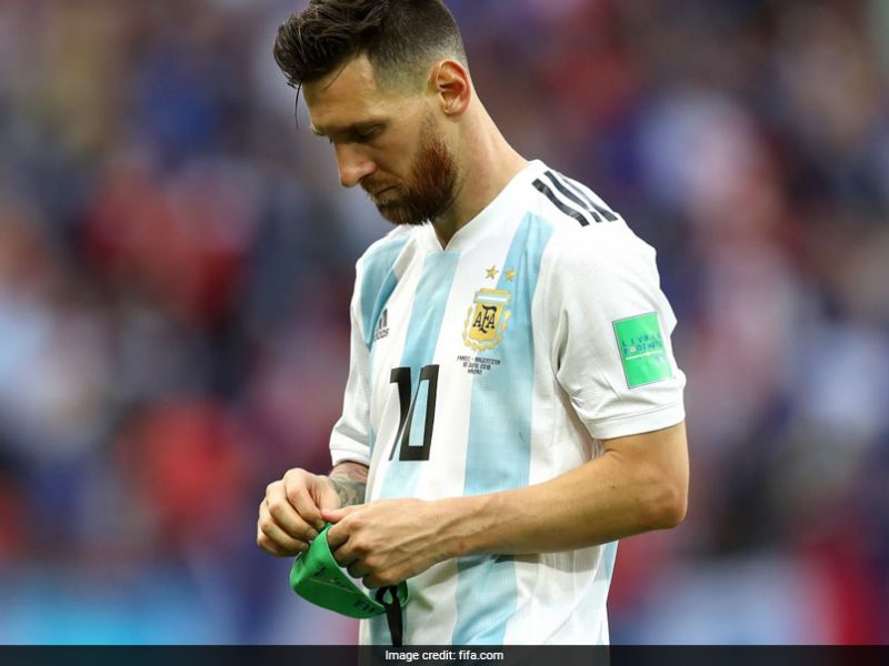 Messi's international career destined to end in disappointment.