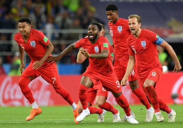 England turned a new leaf in the World Cup history by beating Colombia on penalties