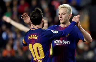 Ivan Rakitic: I just don't like to play against Messi!