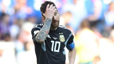 Lionel Messi missed a penalty in the 64th minute: FIFA world cup 2018