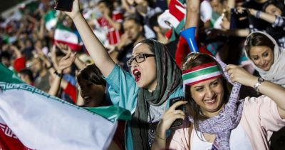 FIFA 2018: Women see World Cup matches for the first time Iran stadium