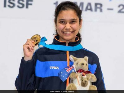 Manu Bhaker wins gold with a record in ISSF Junior World Cup