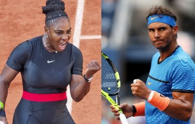 Rafael Nadal second and Serena seeded to 25th