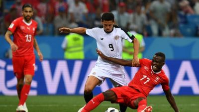 Switzerland Costa Rica knockout match results in a draw