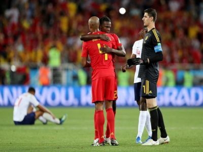 FIFA WC 2018: Belgium overthrows England to top Group G