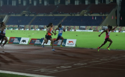 Hima Das grabs first position at marquee womens 400m race