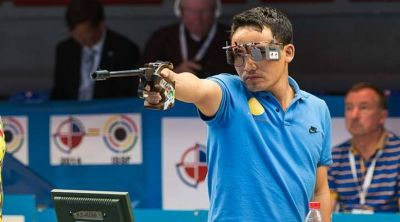Poor start but Jitu Rai clinched bronze medal at 'ISSF World Cup'
