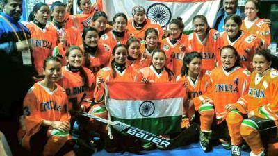 Indian women's ice hockey team registers historic win