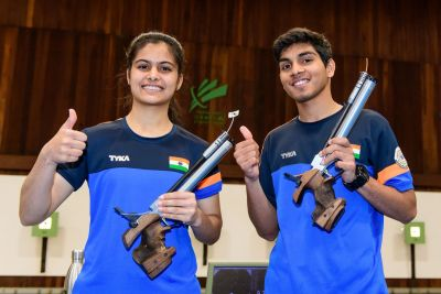 Anmol and Bhaker win 7th gold for the nation: ISSF Junior World Cup