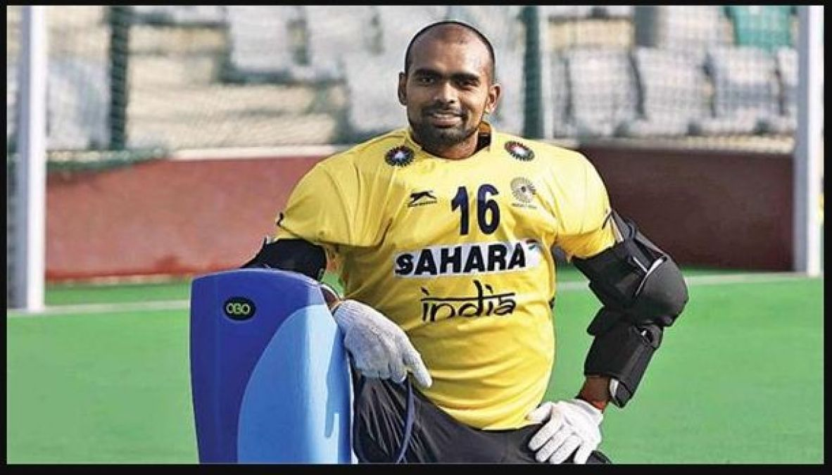 Indian hockey  team goalkeeper PR Sreejesh nominated for Khel Ratna Award