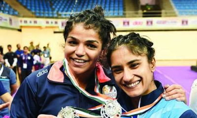 Three of Indian Wrestlers won silver in 'Asian Wrestling Championship'