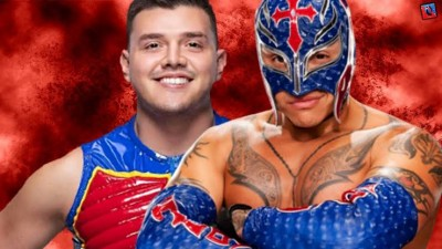 WWE: Rey Mysterio with son Dominik become first father-son Tag Team Champions.