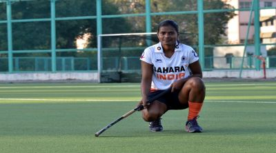 Indian women's team Defender Sunita Lakra completes 100th international matches
