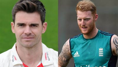 James Anderson replace Ben Stokes as vice-captain in Ashes