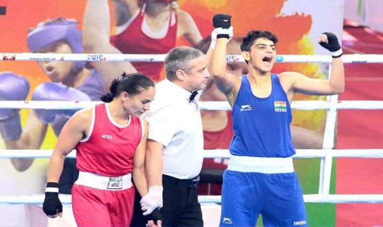 MC Mary Kom, Sonia Chahal to fight for Gold medals today: Women's World Boxing Championships