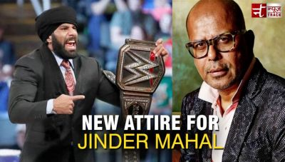 Jinder Mahal new attire will be designed by Narendra Kumar for India Live Events