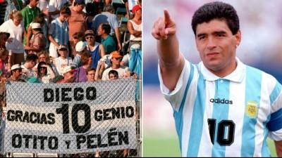 Best Homage to Maradona