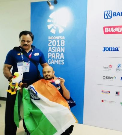 Para Asian Games 2018: India win 5 medals on opening day