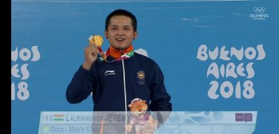 2018 Youth Olympic Games: 15-year-old weightlifter, Jeremy Lalrinnunga wins a maiden GOLD Medal for India