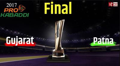 VIVO Pro Kabaddi 2017 Final: Saga for the final will be played between Gujarat and Patna today.