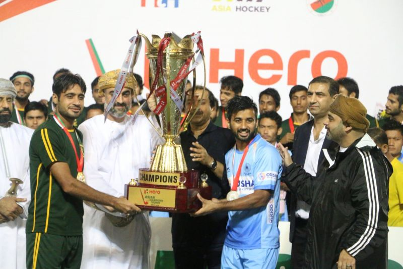 Asian Champions Trophy 2018: India, Pakistan declared joint winners due to bad weather conditions