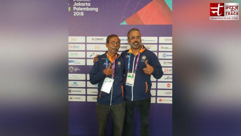 Asian games 2018 : Gold 15 -India's Pranab Bardhan and Shibhnath Sarkar win GOLD  in Men's Pair