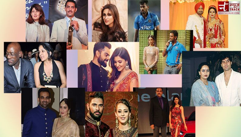 5 cricketers who share hush- hush links up with b-town actress