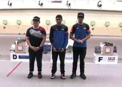 ISSF World Championships: Saurabh Chaudhary wins gold while Arjun Singh, Cheema win bronze