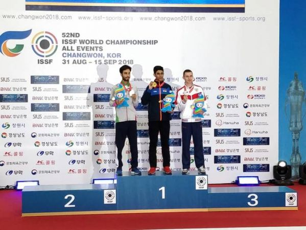 ISSF Shooting World Championships: Hriday Hazarika shoots for gold