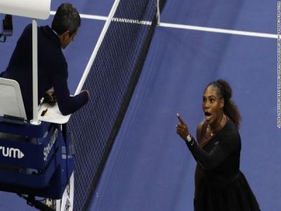 23-time Grand Slam champion Serena Williams fined $17,000 for US Open outburst