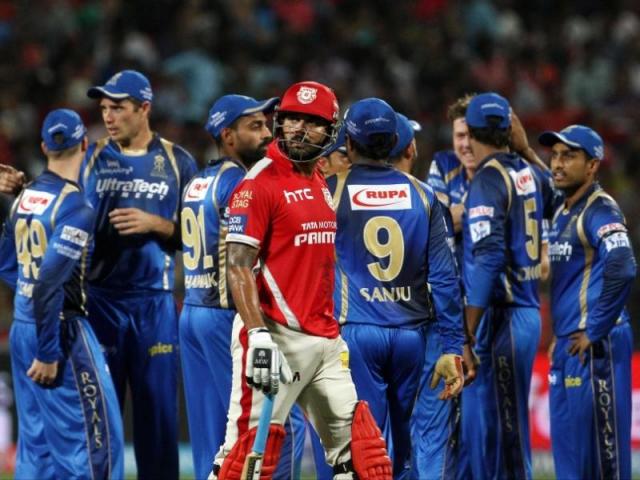 IPL-8 : रॉयल्स ने किंग्स को 26 रनों से दी मात