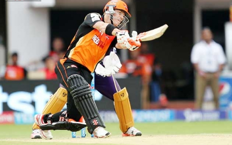 IPL-8 : वार्नर ने सनराइजर्स को दिलाई दूसरी जीत
