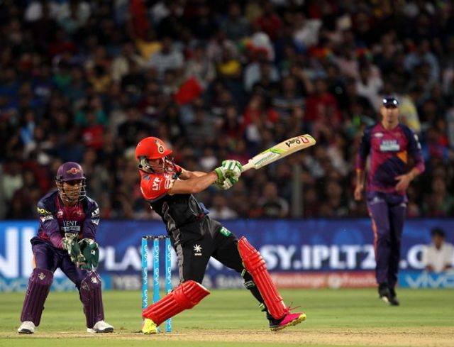 IPL Bangalore vs Pune: Kohli and Villiers smashed brisk half centuries