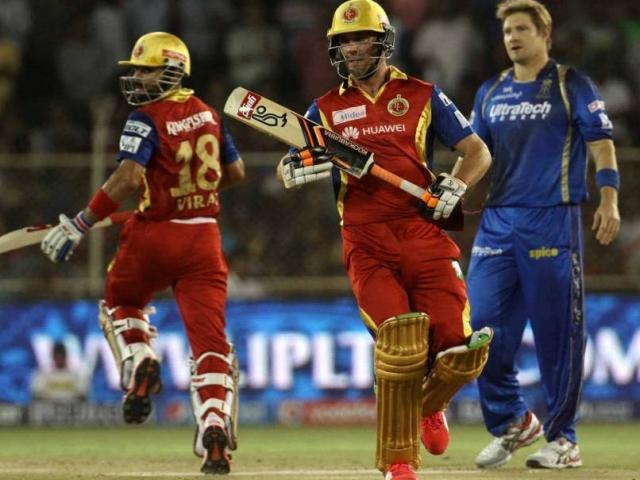 IPL-8 : रॉयल चैलेंजर्स ने रॉयल्स को 9 विकेट से हराया