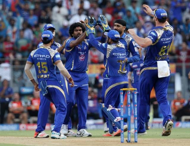 IPL 8- मुंबई इंडियंस ने सनराइजर्स हैदराबाद को 20 रन से हराया
