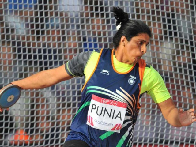 Seema Punia fails to qualify for discus throw final at Rio Olympic