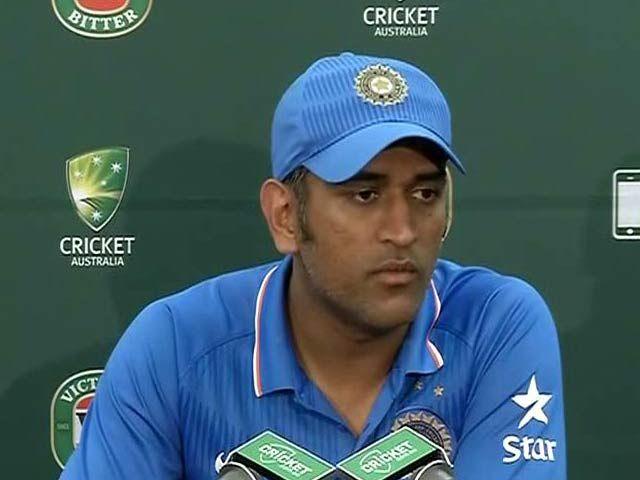 बमराह व आशीष नेहरा ने तीन मैचों में अच्छी भूमिका निभाई : धोनी