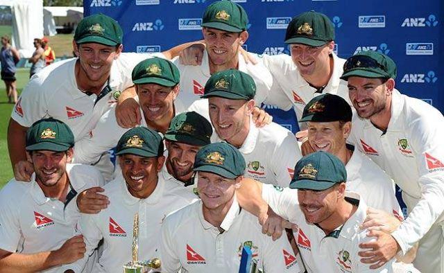 Test Ranking : ऑस्ट्रेलिया ने भारत को दूसरे स्थान पर धकेला