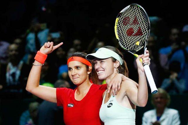 सानिया-हिंगिस ने सिडनी इंटरनेशनल में लगातार जीत के रिकॉर्ड की बराबरी की