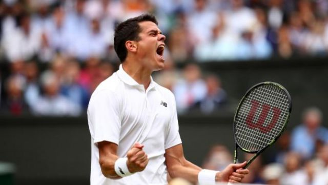 Canadian Tennis star Milos Raonic reaches Wimbledon final