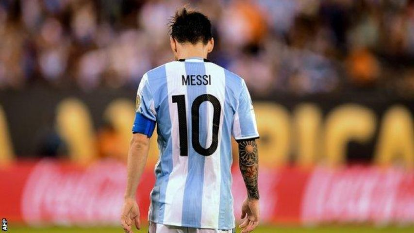 International Soccer Shocker, Lionel Messi announced his retirement
